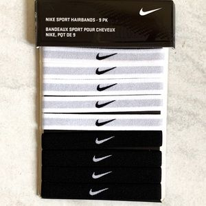 Nike Sport Hairbands - 9 PK
